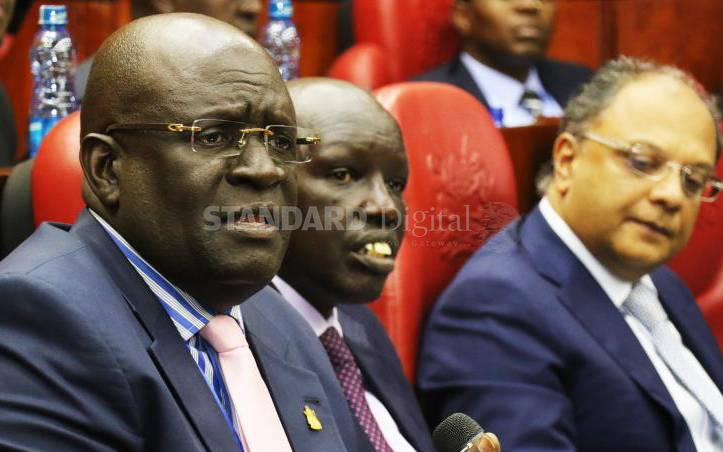 MPs press Magoha over withheld certificate : The Standard