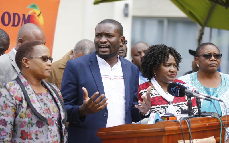 ODM fires Nanok as it unveils 2022 poll plan : The Standard